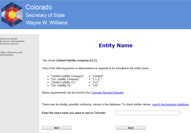 How to Form a Colorado LLC