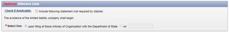 Effective Date NY LLC