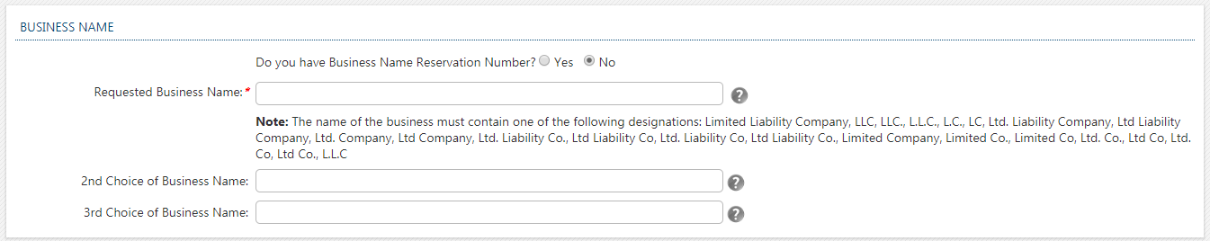 Georgia LLC Register Business Name
