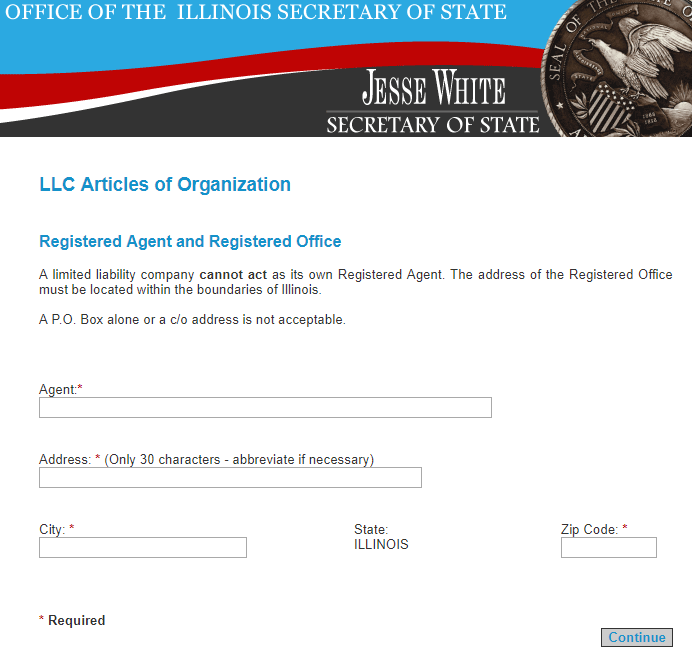 Illinois LLC Registered Agent
