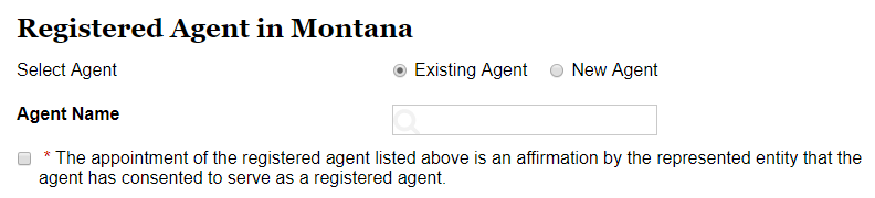 Montana LLC Registered Agent