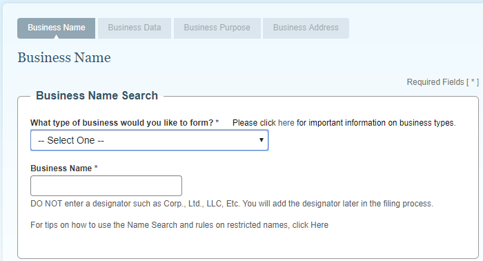 NJ LLC Business Name Registration