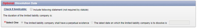 New York LLC Dissolution Date