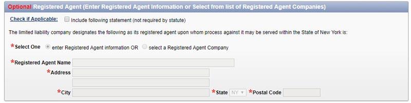 New York LLC Registered Agent