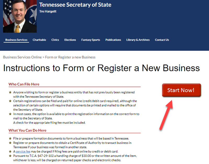 How to Form an LLC in Tennessee