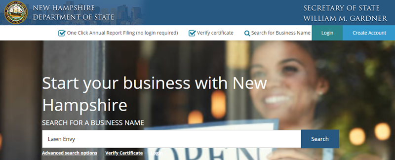 How to do a New Hampshire Business Name Search