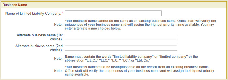 Register a Business Name Vermont LLC
